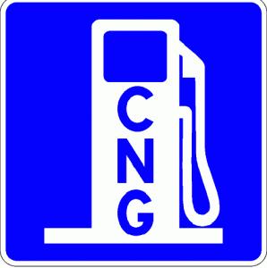 CNG Pump Symbol