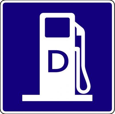 Diesel Pump Symbol