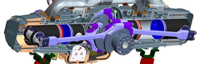 EcoMotors OPOC Engine